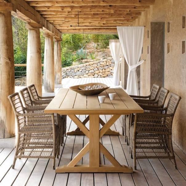 Designer-Wicker-And-Teak-Garden-Dining-Set-1