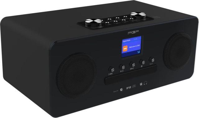 Radio med cd spiller, dab, dab+ og fm, bluetooth