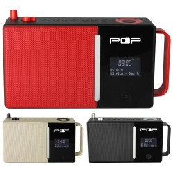 POPmusic, radio med dab+, fm og bluetooth