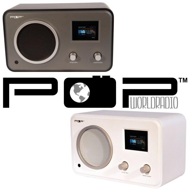 POPworldradio - radio med hele verden ombord. dab+, fm, internett m.m.