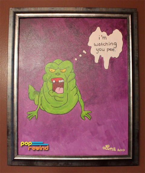 ghostbusters-slimer-painting-001
