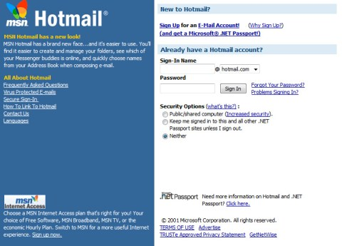 2001-hotmail