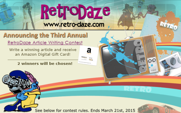 retrodaze - Third Annual Article Contest