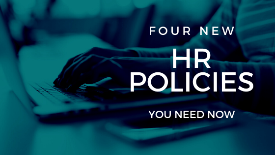 hr policies on laptop
