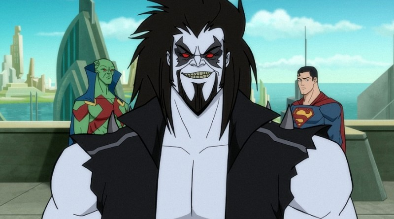 Superman X Lobo! Animação The Man of Tomorrow! - POPSFERA