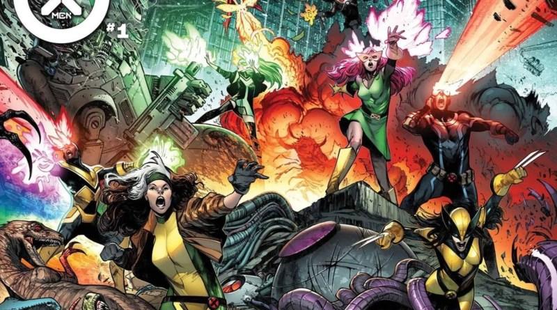 A nova formação dos X-Men!