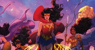 Crossover da DC Comics nos gibis das amazonas em 2022!