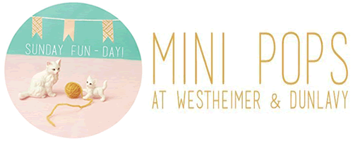 Mini Pops Monthly Art Market Houston | Westheimer & Dunlavy | Taxi Taxi Clothing | Pavement Clothing | Leopard Lounge Vintage