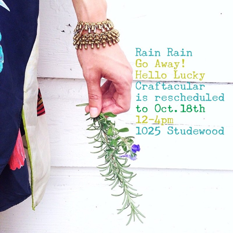 Craftacular the Hello Lucky Craft Fair in the Heights | Hello Lucky is a Handmade Clothing Boutique in Houston Heights