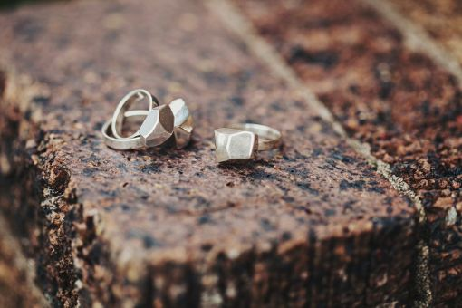 3D Printed Ring | Sterling Silver Ring | Geometric Rock Ring | Made in NYC | The Future Future