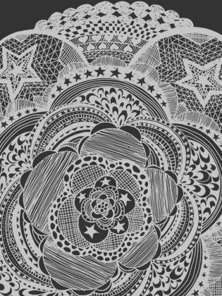 Detail of Mandala Tee | Supermaggie | Made in Texas