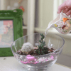 Still from the How to Make a Succulent Terrarium Video by Pop Shop America | How to Build a Terrarium Instruction on the Pop Shop America Craft Blog