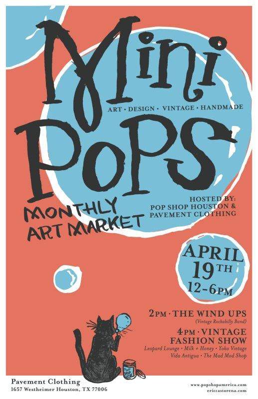 Mini Pops Monthly Art Market Houston Craft Shows Outdoor Events
