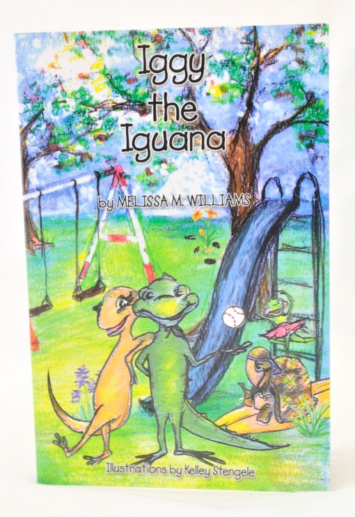 Iggy the Iguana Book Cover by Melissa M. Williams