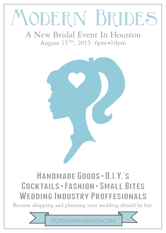 Modern Brides | A Bridal Event in Houston TX | Shop and Plan for Your Wedding