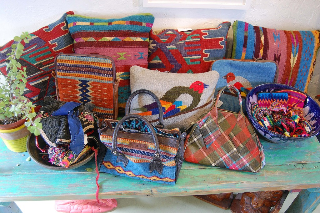 Southwestern Print Purses Vintage Hand Bags from The End Clothing Boutique in Joshua Tree