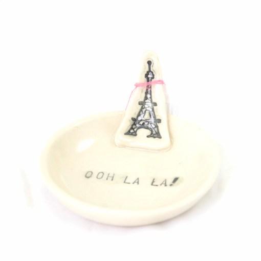 Ooh La La! Eiffel Tower Paris Ring Dish Pop Shop America Handmade Boutique