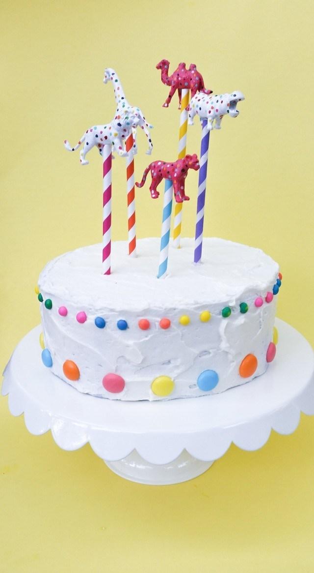 animal cookie cake topper party decor a joyful riot