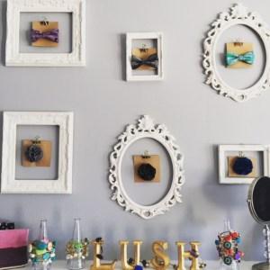 Cute frames at Lush & Co.