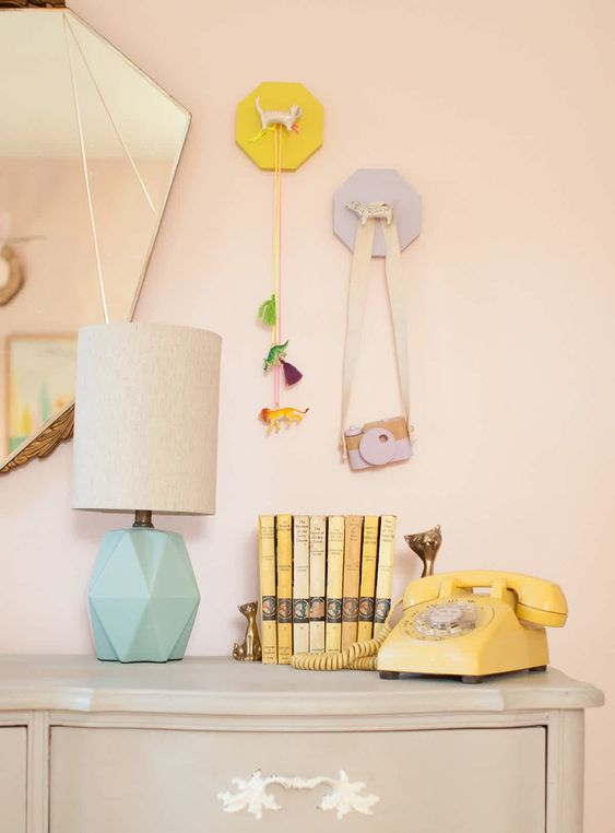 diy wall mounted animal toy jewelry holders