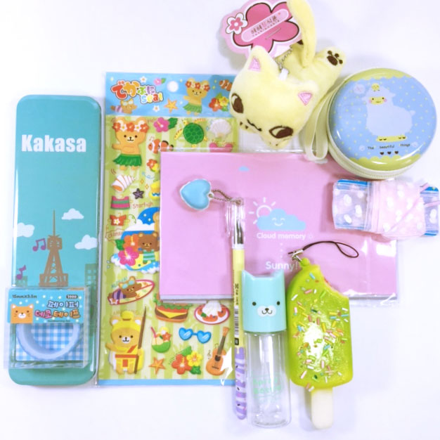 The Contents of a Kawaii Box