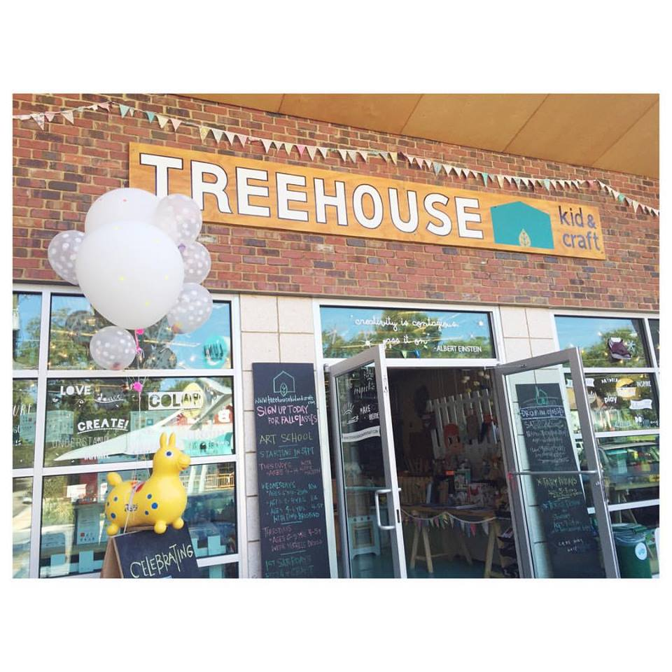 Treehouse Kids & Craft Athens GA