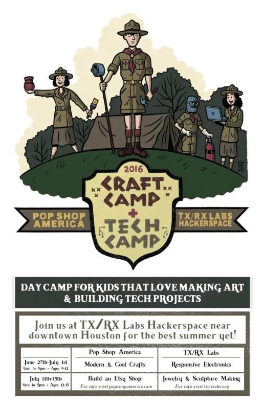 kids summer camp houston txrx pop shop