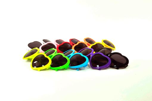 rainbow heart sunglasses all