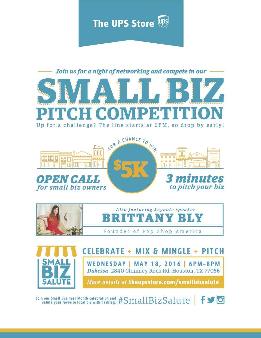 Small Business Salute Houston May 2016