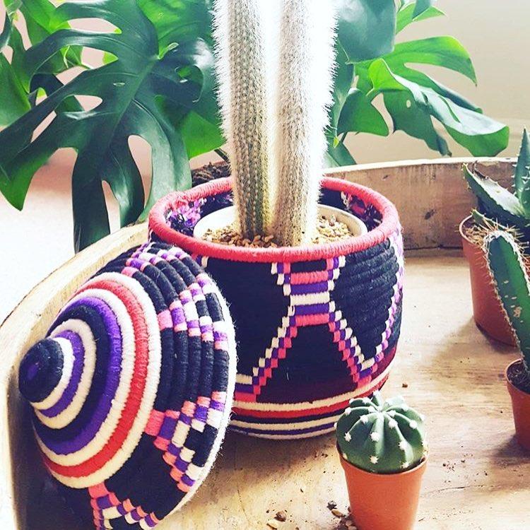 sunshine tienda fair trade woven baskets at pop shop houston
