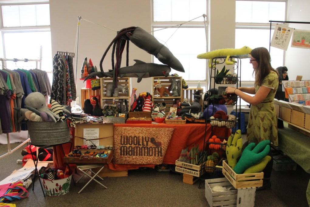 woolly mammoth at bloomington handmade market best art markets usa