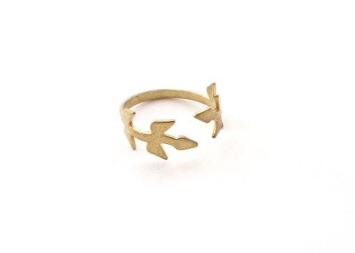 ivy-ring-olive-branch-brass-ring-side-view