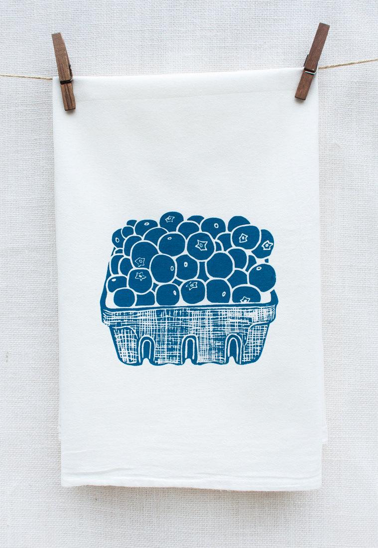 Blueberry Kitchen Towel
