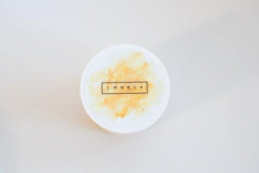 top view handcrafted mustard soak sore muscle relief