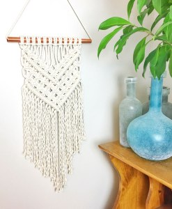 cream-simple-triangle-boho-macrame-wall-hanging