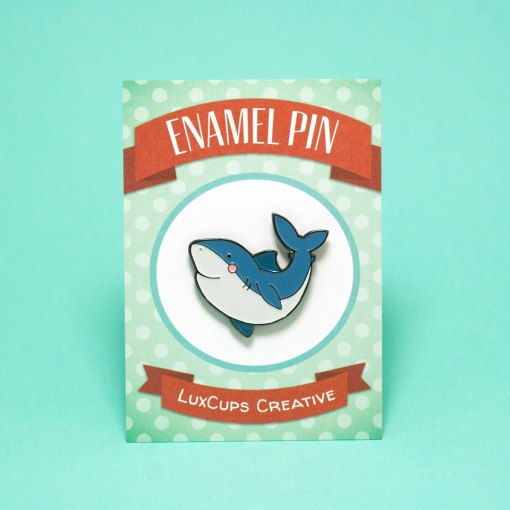 shark-enamel-pin-with-packaging-handmade-enamel-brooch