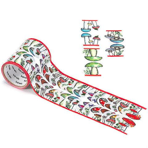 mushroom washi tape by bande on roll