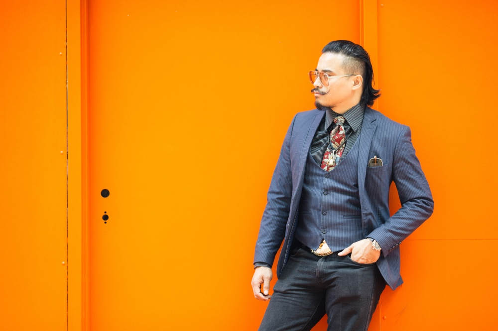 danny nguyen at pop shop houston fashion show