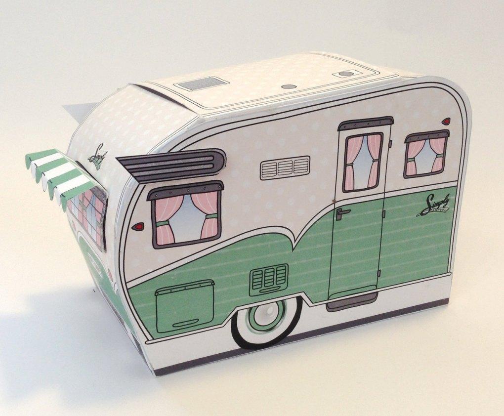 airstream trailer paper treat box