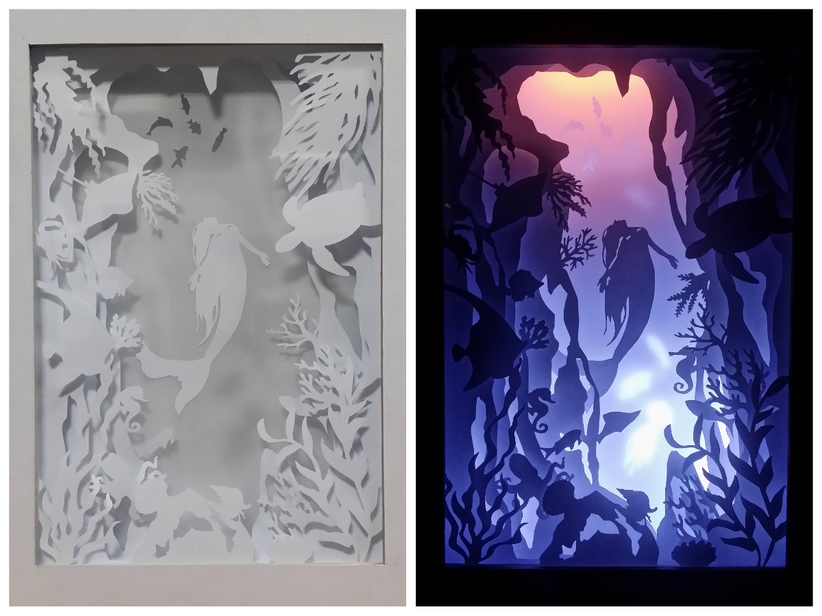 Diy Downtown 3d Paper Sculptures Shadowboxes Art Class