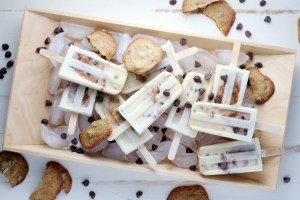 Chocolate Chip Cookies & Cream Popsicles