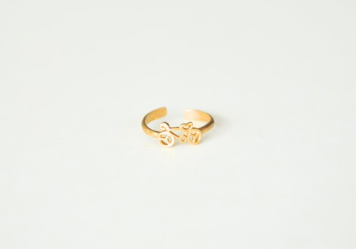 handcrafted jewelry brass bicycle ring pop shop america