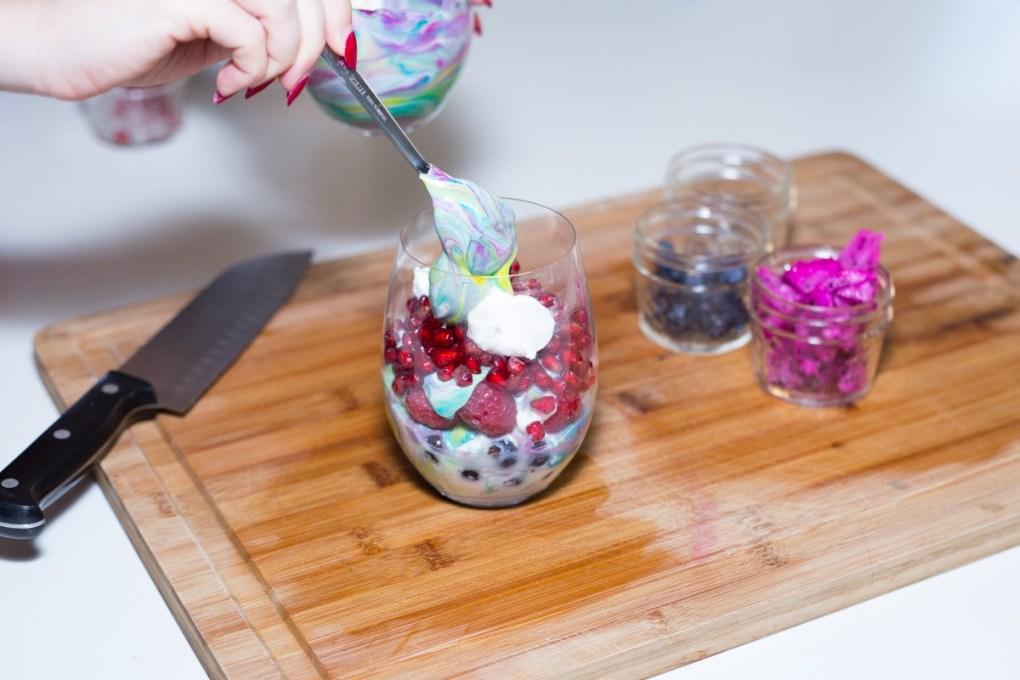 layered-fruit-rainbow-unicorn-yogurt-parfait-recipe