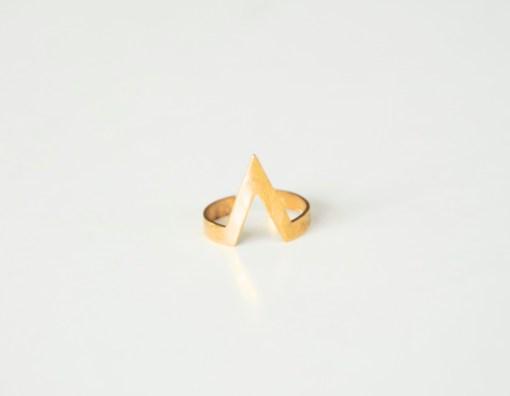chevron-ring-brass-jewelry-sharp-v-pop-shop-america