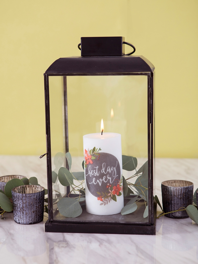 printed paper candle diy pop shop america