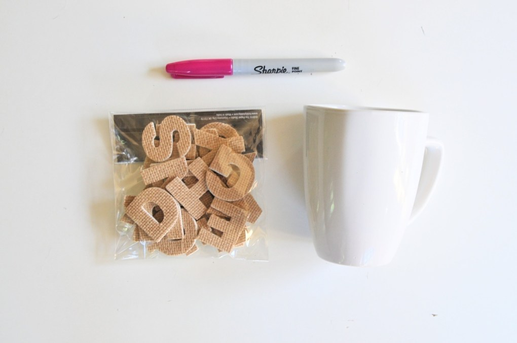 supplies for dotted stippling sharpie coffee mug