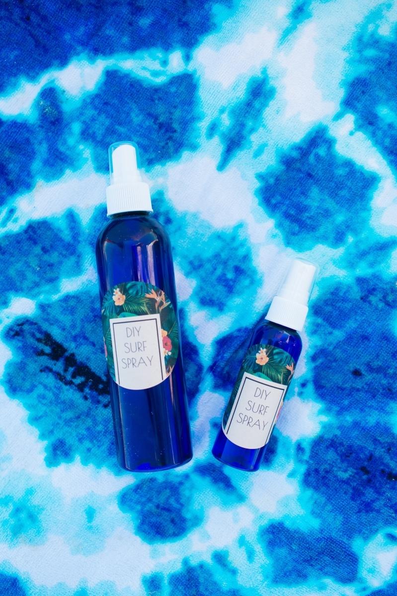 how to make diy surf spray hair tutorial pop shop america