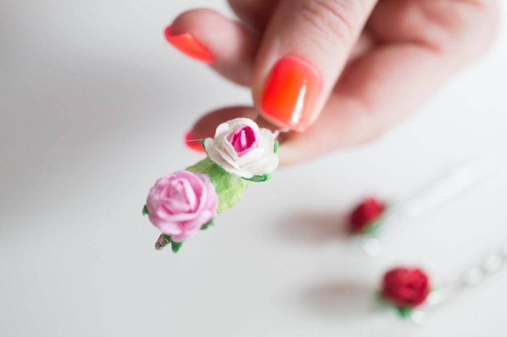 flowers hair clips diy tutorial pop shop america