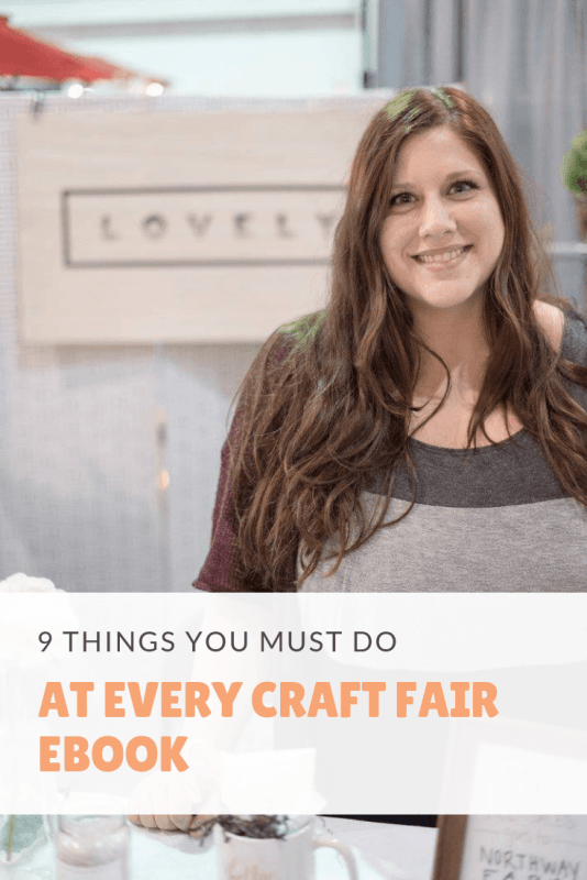 9 things you must do at every craft fair ebook
