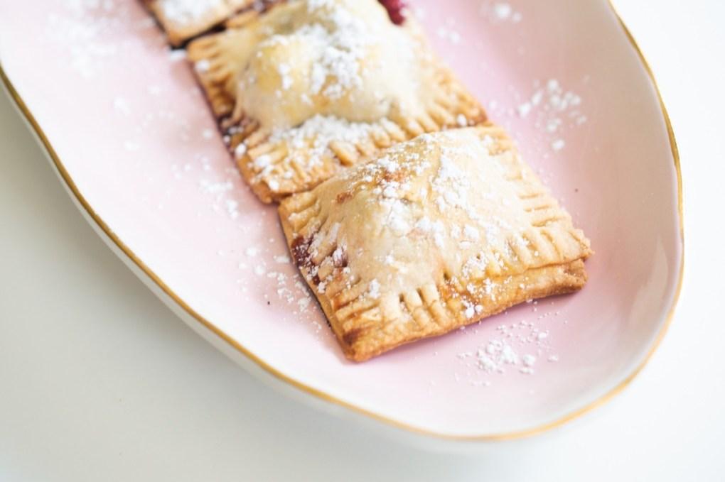 detail of mini cherry hand pies pop shop america